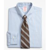 Brooksbrothers Stretch Traditional Relaxed-Fit, Non-Iron Alternating Stripe