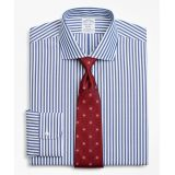 Brooksbrothers Stretch Regent Fitted Dress Shirt, Non-Iron Bengal Stripe
