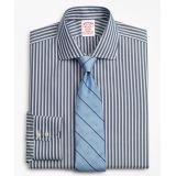 Brooksbrothers Stretch Madison Classic-Fit Dress Shirt, Non-Iron Stripe
