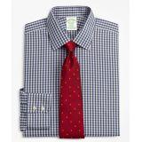 Brooksbrothers Stretch Milano Slim-Fit Dress Shirt, Non-Iron Check