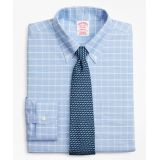 Brooksbrothers BrooksCool Madison Classic-Fit Dress Shirt, Non-Iron Windowpane
