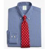 Brooksbrothers Milano Slim-Fit Dress Shirt, Non-Iron Gingham