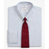 Brooksbrothers Luxury Collection Madison Classic-Fit Dress Shirt, Button-Down Collar Stripe