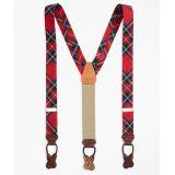 Brooksbrothers Dress Stewart Tartan Suspenders
