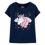 Carters OshKosh Originals Unicorn Graphic Tee