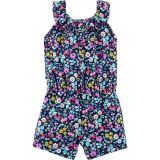 Carters Floral Ruffle Romper