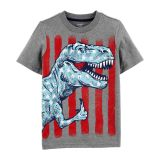 Carters 4th Of July Dino Jersey Tee