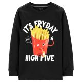 Carters Its FryDay Jersey Tee