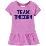 Oshkoshbgosh Team Unicorn Peplum Tunic