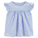 Oshkoshbgosh Flutter Sleeve Lemon Top