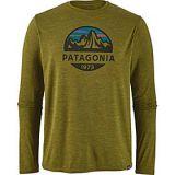 Patagonia Mens Long Sleeve Cap Cool Daily Graphic Shirt
