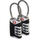 Lewis N. Clark TSA Sentry Cable Lock - 2 Pack