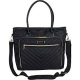 Kenneth Cole Reaction Chelsea Quilted Chevron 15 Laptop & Tablet Business Tote with Shoulder Strap