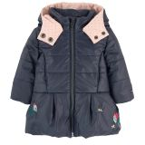 Catimini Embroidered padded jacket
