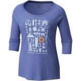 Columbia Camp Stamp 3/4 Sleeve T-Shirt - Womens