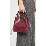 Rebecca Minkoff Luxe Croco Kate Mini Tote Bag