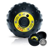 Train Massage Ball | Pulse Percussion Massager with EVA Case for Plantar Fasciitis, Foot, Neck, Hand, Calf, Back Massage Pain Relief  Physical Therapy Grade Trigger Point Myofascial...