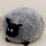 JEWH Funny Cute Sheep Pillow Cushion Plush Toys Soft Comfort Cushion Stuffed Dolls Baby Kids Cartoon Gift (20-50cm ) ( Gray ) (20 cm)