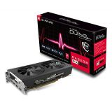 Sapphire Technology Sapphire 11265-05-20G Radeon Pulse RX 580 8GB GDDR5 Dual HDMI / DVI-D / Dual DP OC with Backplate (UEFI) PCI-E Graphics Card Graphic Cards