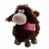 HWD Kawaii 15 inches Soft Stuffed Sheep Plush toys Dolls Stuffed Animals - Brown