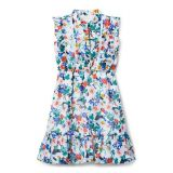 Janie and Jack Floral Ruffle Dress