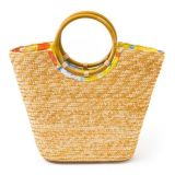 Janie and Jack Structured Straw Purse