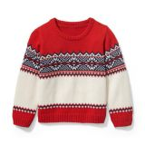 Janie and Jack Fair Isle Pullover