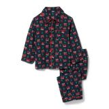 Janie and Jack Train and Tree Pajama Set