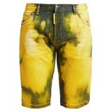 Dsquared2 Acid-Dyed Denim Shorts