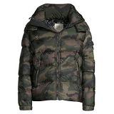 Sam. Glacier Camouflage Down Nylon Puffer Jacket