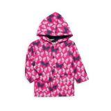 Hatley Little Girls & Girls Color Changing Spotted Butterflies Rain Coat