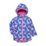 Hatley Little Girls & Girls Adorable Alpacas Rain Jacket