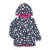 Hatley Little Girls & Girls Fun Dots Scuba Fleece Jacket