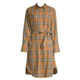 Burberry Isotto Long Shirt Dress