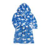 Hatley Kids Roaming Dinosaur Fleece Robe