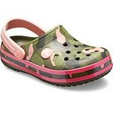 Crocs Kids Crocband MultiGraphic Clog