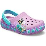 Kids Crocs Fun Lab Princess Jasmine Band Clog