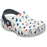 Crocs Kids Classic Anchor Print Clog