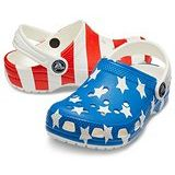 Crocs Kids Classic American Flag Clog