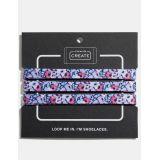 Coach floral print shoe laces
