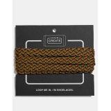 Coach multi woven shoe laces