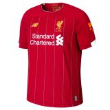 New Balance Liverpool FC Home SS Jersey No EPL Patch