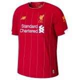 New Balance Liverpool FC Home SS Jersey EPL Patch
