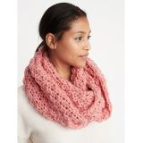 Oldnavy Textured Basket-Weave Infinity Scarf for Women 30% Off Taken at Checkout