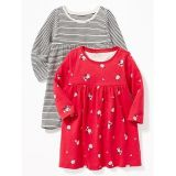 Oldnavy Jersey Babydoll Dress 2-Pack for Baby 30% Off Taken at Checkout
