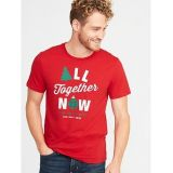 Oldnavy Holiday Humor Graphic Tee for Men 30% Off Taken at Checkout