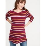 Oldnavy Maternity Relaxed Slub-Knit Boat-Neck Tee 30% Off Taken at Checkout
