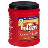 Walgreens Folgers Classic Roast Ground Coffee