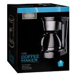 Walgreens Living Solutions 5 Cup Coffee Maker Black