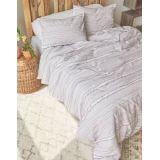 American Eagle Dormify Eyelash Stripe Full/Queen 3-Piece Comforter and Sham Set